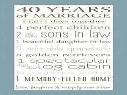 40th wedding anniversary gift ideas for pas year lading th gifts india 40th wedding anniversary gift