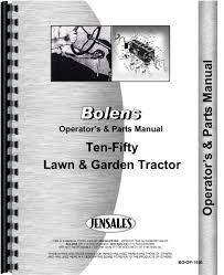 cheap bolens lawn tractor parts diagram bolens lawn tractor bolens 1050 lawn garden tractor operators parts manual
