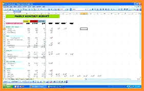 example of personal budget personal budget excel sample personal budget excel spreadsheet