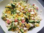 Как сделать крабовый салат рецепт 11