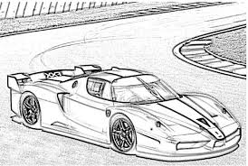 Ferrari Fxx Coloring Page Ferrari Cars Coloring Pages Coloring