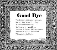 Goodbye Poems For Friends Farewell Poems In Friendship Classy Goodbye Friendship