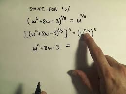 solving an equation involving rational exponents example 1