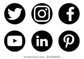 facebook twitter instagram logo. Wonderful Instagram Valencia Spain  March 20 2017 Collection Of Popular Social Media Logos  Printed Inside Facebook Twitter Instagram Logo A