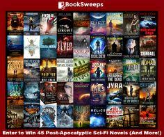 enter to win more than 45 post apocalyptic science fiction novels from your favorite award