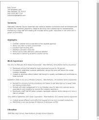 resume templates customer service supervisor supervisor resume templates