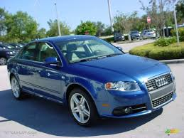 2008 Ocean Blue Pearl Effect Audi A4 2.0T Special Edition Sedan ...