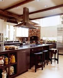 Natural Wood Kitchen Cabinets Enlarge Hickory  Hickory Wood Cabinets A34