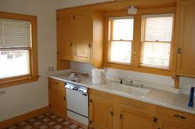 Old Kitchen Cabinet Painting Old Wood Kitchen Cabinets White