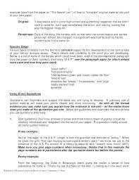 How To Poem Examples Example Poetry Analysis Essay Outline