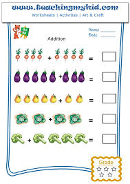 Ideas About Addition Worksheets For Kindergarten With Pictures ...