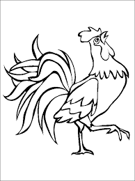 Small Picture Free Rooster Pictures to Print Printable animal coloring page of