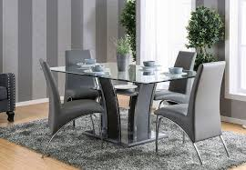 gray dining room table. Glenview I Gray Rectangular Dining Room Set Table T