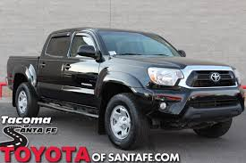 Pre-Owned 2013 Toyota Tacoma Base Double Cab Truck in Santa Fe ...