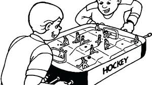 Coloring Pages Nhl Hockey Players Practices To Print For Free Sports
