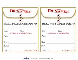 Free Templates Invitations Printable Spy Birthday Party Invitation Template Invitation Template