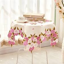 side tables side table cloth multi size past luxury embroidered fabric wedding home round table