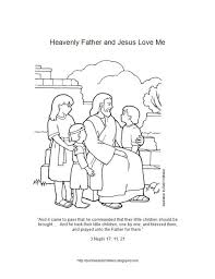 Small Picture Lesson 6 Heavenly Father and Jesus Christ Love Me Allow the