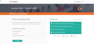 testing education reference center learning path the course learning path in terc is intuitive and easy to use