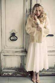 winter brides fur jackets and stoles