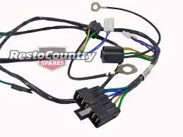 hz wiring loom hz image wiring diagram holden single headlight horn wiring loom harness hx hz wire light on hz wiring loom