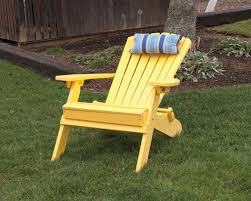 photo 1 of 11 folding and reclining polywood adirondack chairs amish made in the usa great for the