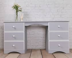 hand painted white bedroom furniture. pine dressing table - desk, hand painted using autentico chalk based paints. this vintage · bedroom furniturefurniture white furniture e