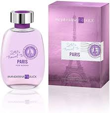 <b>Lets Travel</b> To Paris by <b>Mandarina Duck</b> for Women - 3.4 oz EDT ...