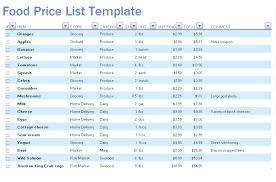 Shopping List Price Calculator Grocery Price Listing Under Fontanacountryinn Com