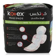 Kotex Designer Pads Kotex Comfort Clean Maxi Pads Super With Wings 30 Pieces