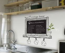 chalkboard wall decor
