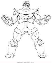 Disegno Thanos2 Misti Da Colorare