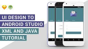 Android Material Design Login Form Xml Ui Design Login Tabs Ui Design To Android Studio Xml Java Tutorial