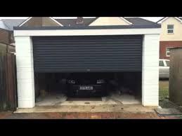 electric garage doorsAutoRoll electric garage door  YouTube