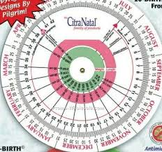 Pregnancy Gestation Chart Large Pregnancy And Gestation Calculator Chart Wholesale China