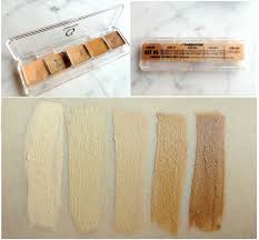 cinema secrets 5 in 1 ultimate foundation palette kit 3 with yellow undertones best suited for light um plexions bought for usd30