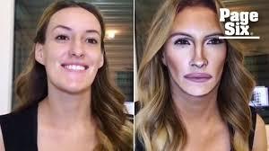 makeup maven transforms into julia roberts drake and jennifer aniston video page six