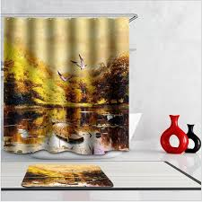 Michael Jackson Pattern Waterproof Thickening Bath Curtains 3D Shower Curtain For Bathroom Custom With 12 X