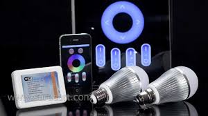 smartphone controlled lighting. Smartphone Controlled Lighting