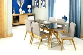 glass table with 6 chairs round glass dining table for 6 round glass dining table with