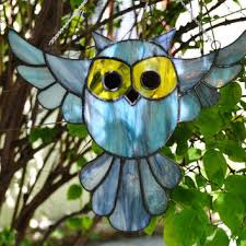 stained glass window decorations on wanelo stained glass patterns com owl