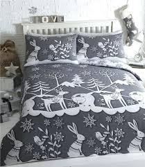 super king size bedding duvet set grey bedding winter wonderland super quilt cover super king