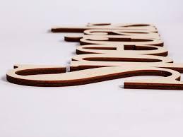wood words