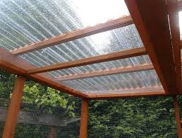 corrugated plastic roofing roof clear installation pvc panel