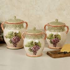 Purple Kitchen Canister Sets Kitchen Canisters And Canister Sets Touch Of Class