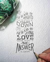 Quotes calligraphy
