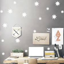 snowflakes wall decals set snowflakes wall sticker baby kids nursery wall decal removable wall frozen snowflake