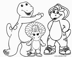 Small Picture Free Printable Barney Coloring Pages For Kids Cool2bKids