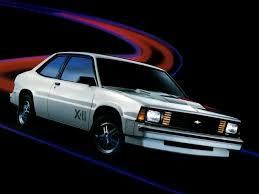 Chevrolet Citation X 11 2 Door Coupe 198384