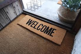 open door welcome mat. Inspirations Open Door Welcome Mat And By Peastyle | Notonthehighstreet O